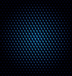 Techno hexagon circle texture background vector