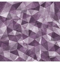 Purple Mosaic Background vector image vector image