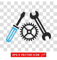 Tuning Service Eps Icon vector image vector image