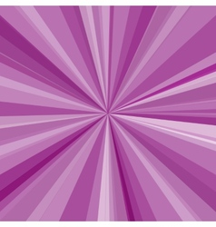 Purple rays background for your bright beams vector image