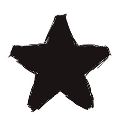 Black moder star design vector