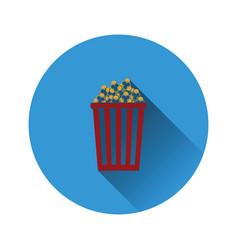 cinema popcorn icon vector image