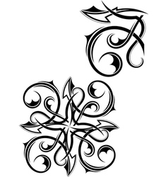 Set Tribal tattoo vector