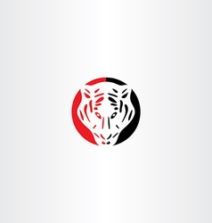 Tiger logo icon symbol vector
