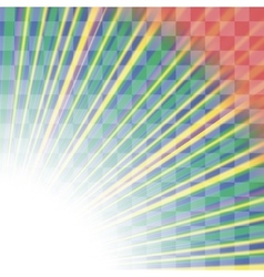 Transparent Colorful Rays Burst of Star vector