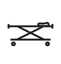 Stretcher vector image vector image
