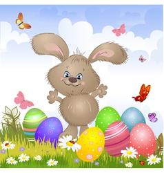 aester rabbit4 vector image vector image