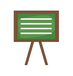 blackboard education isolated vector image