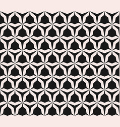 seamless pattern with angular figures triangular vector image
