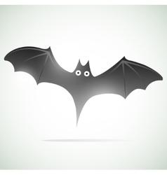 bat icon vector image
