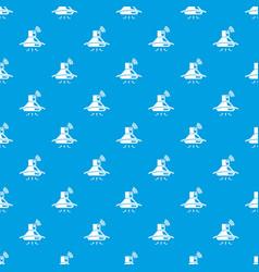 kitchen hood pattern seamless blue vector image