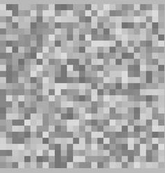 Pixel square mosaic background - geometric design vector