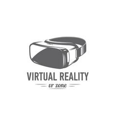 Virtual reality glasses vector