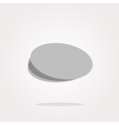 Web buttons for design icon with empty vector image