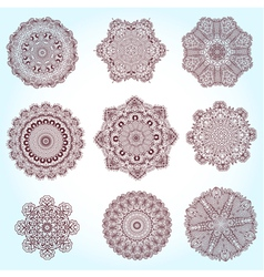 arabesque set2 vector image