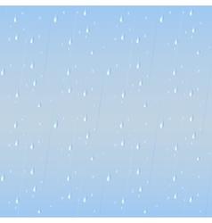 Rain drops seamless background vector image