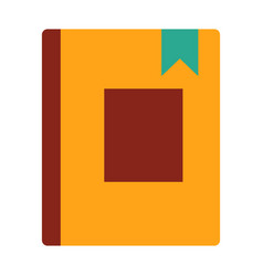 book icon education book - book library vector image