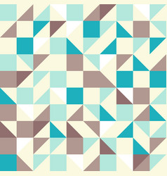 Brown and Blue Tiles vector image