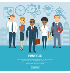 Business people team vector