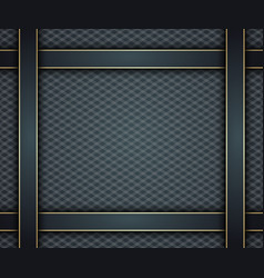 dark blue background with gold vector image