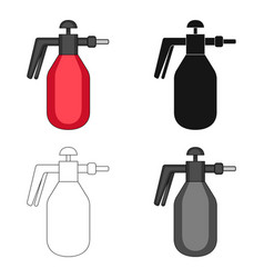 Dispenser for disinfection single icon in cartoon vector
