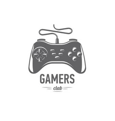 gamepad badges vector image