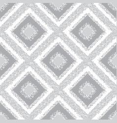 Gray rhombus carpet seamless pattern vector