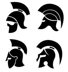 helmets vector image