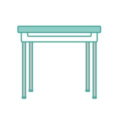 School table design vector