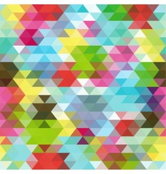 Seamless Triangle Abstract Background vector image vector image