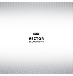 Abstract white and gray grid perspective vector