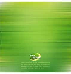 Abstract green background vector