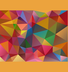 abstract irregular polygon variegated background vector image