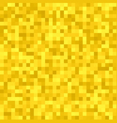Abstract pixel square tiled mosaic background vector