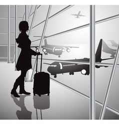 Airport Design vector image