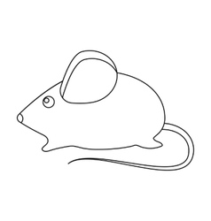 House mouse icon of for web vector