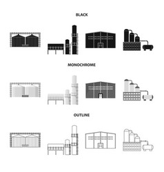 Isolated object production and structure sign vector