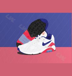 Nike air 180 ultramarine air max vector