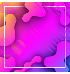 Pink and lilac background with abstract pattern vector