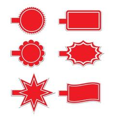 tag vector image vector image