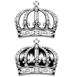 corona vector image vector image