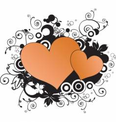 heart illustration vector image vector image