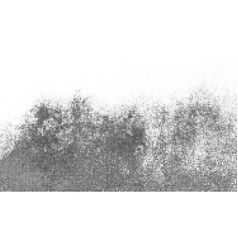 black halftone dotted backdrop vector image