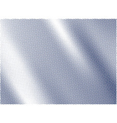 Blue satin and silk cloth fabric crease vector