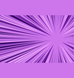 Burst and explosion purple background vector