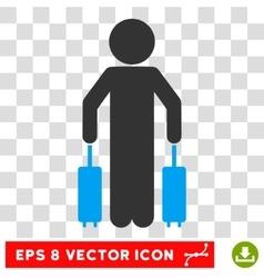 Child Passenger Eps Icon vector