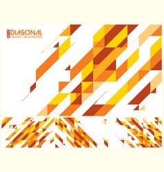 Modern diagonal abstract background vector