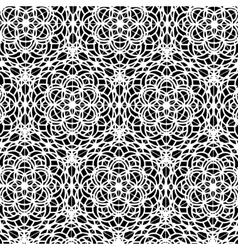 Oriental floral pattern in decorative style vector