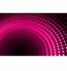 pink back vector image