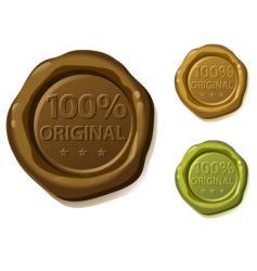 Seal original vector